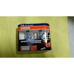 OSRAM NIGHT BREAKER UNLIMITED H4 12V 60/55W (รุ่นแถมหลอดไฟหรี่T10)